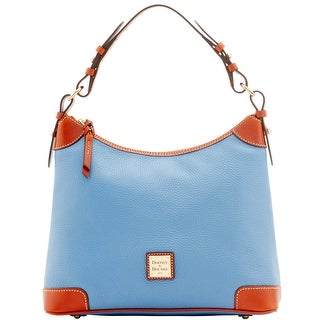 Dooney & Bourke Pebble Grain Hobo (Introduced by Dooney & Bourke at $228 in Apr 2016) - Dusty Blue