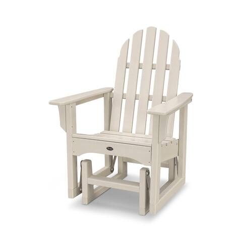 Trex Outdoor Furniture Cape Cod Adirondack Glider Chair