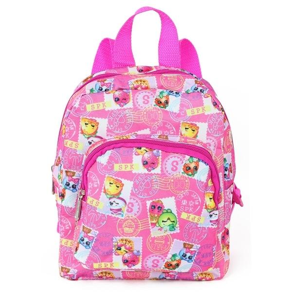 4673cf7dccb Shop Shopkins Girls Mini 10   SPK Stamp Backpack - Ships To Canada ...
