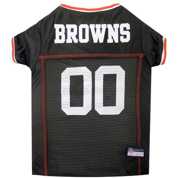 03f04f67b Shop NFL Cleveland Browns Pet Jersey - Free Shipping On Orders Over  45 -  Overstock.com - 12384251
