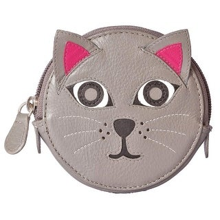 What on Earth Women's Animal Face Leather Coin Purses - Cat Sheep Penguin Wallet - One Size