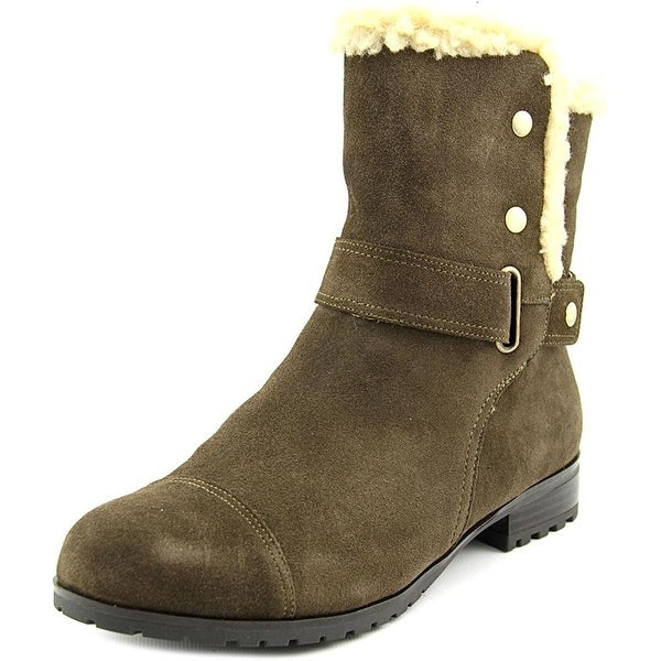 Giani Bernini Womens LOTII Faux Fur Closed Toe Ankle Cold Weather Boots