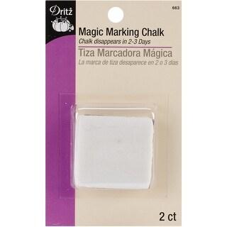 Magic Marking Chalk 2/Pkg-White - White