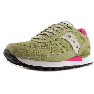 Saucony Shadow Original Women  Round Toe Suede Tan Running Shoe