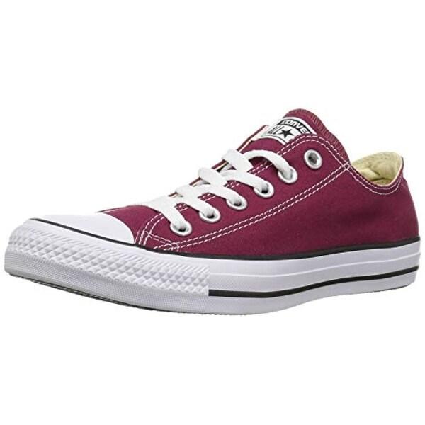 9b17d4cf8d34 Shop Converse Unisex Chuck Taylor All Star Seasonal Lo Top Maroon Sneaker -  5 Men - 7 Women - Free Shipping Today - Overstock - 25995121