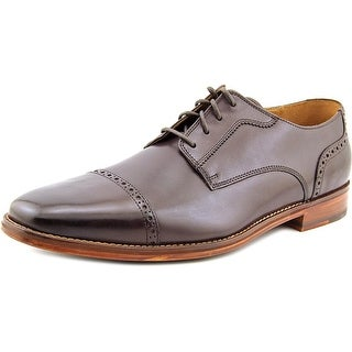 Cole Haan Giraldo Lx Cap Ox II Round Toe Leather Oxford