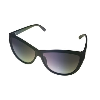 Kenneth Cole Reaction Plastic Black Cateye Women Sunglass Gradient Len KC1253 5B - Medium