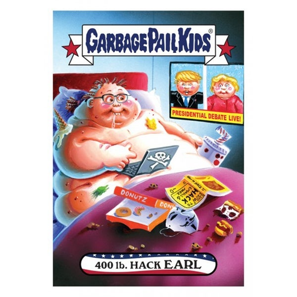 2fde9131b Shop Garbage Pail Kids GPK: Disgrace to the White House 400 LB. Hack Earl  #4 - multi - Free Shipping On Orders Over $45 - Overstock - 13727361