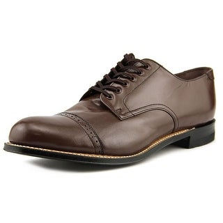 Stacy Adams Madison Men E Cap Toe Leather Brown Oxford