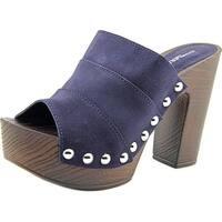 Charles David Ellina Women  Open Toe Suede  Slides Sandal