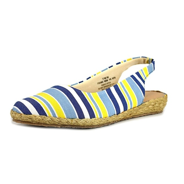 Beacon Eastport Women W Round Toe Canvas Espadrille