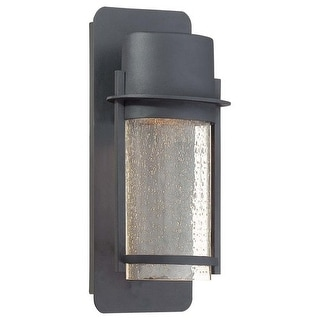 "The Great Outdoors GO 72251 1 Light 13"" Height Dark Sky Compliant Outdoor Wall Sconce from the Artisan Lane Collection - Black"