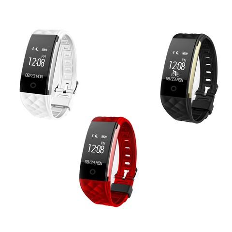 TechComm VX9 Water-resistant Fitness Tracker Dynamic Heart Rate Sensor