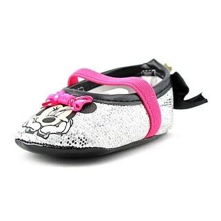 Disney Minnie Crib Shoe Round Toe Synthetic Mary Janes