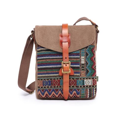 TSD Brand Four Seasons Crossbody Bag