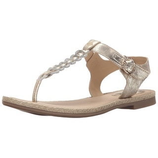 d53b6167a46f04 ... Shop Sperry Womens Anchor Away Leather Open Toe Casual T-Strap Sandals  - Free Shipping ...