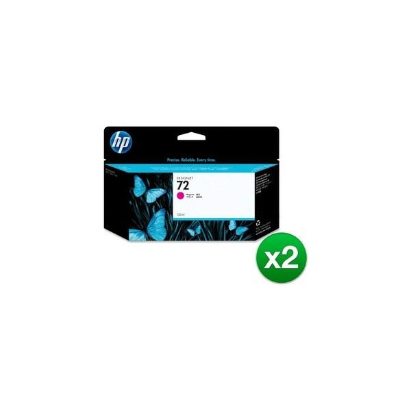 HP 72 130-ml Magenta DesignJet Ink Cartridge (C9372A) (2-Pack)