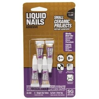 Liquid Nails LN-202 Ceramic Projects Repair Adhesive