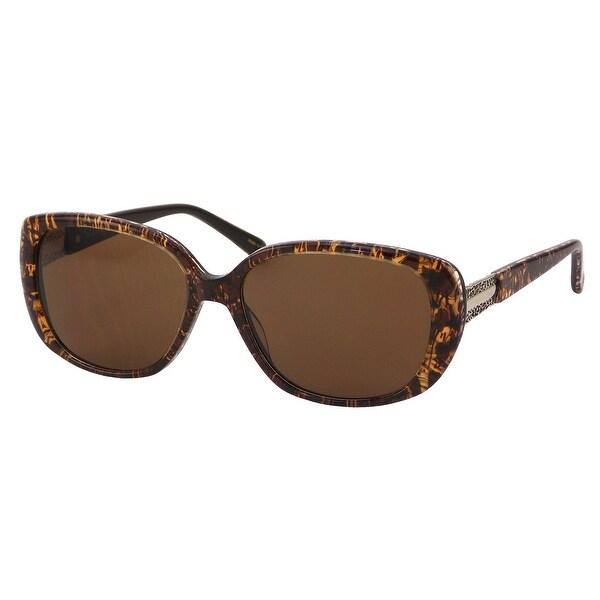 dee6916d3 Elizabeth Arden Sunglasses for Women Brown Plastic Cat Shape Sunglasses  5235-1