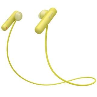 Sony Wireless In-Ear Sports Headphones (Yellow)