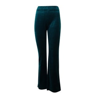 Style & Co. Women's Embellished Back Pocket Velour Sweatpants