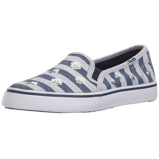 Keds Double Decker Slip On Sneakers Shoes - 4 m us big kid