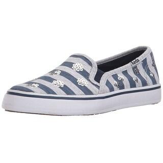 Keds Double Decker Slip On Sneakers Shoes - 4 m us big kid