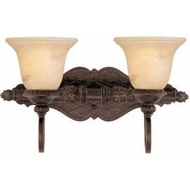 "Savoy House 8P-50215-2 Knight 18.75"" Wide 2 Light Bathroom Vanity Light - Antique Copper"