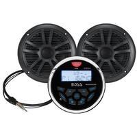 Boss Audio Mckgb350B.6 Combo Gauge Style Stereo Pair - MCKGB350B.6