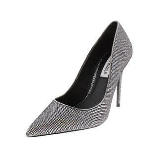 aa46286ef83 Steve Madden Womens Wails Leather Closed Toe Ankle Strap Classic Pumps.  Quick View