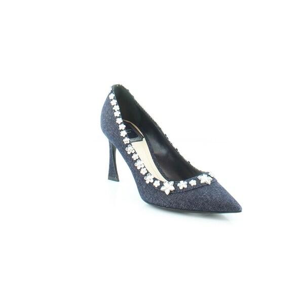 Christian Dior Garland Women's Heels Bleu Fonce