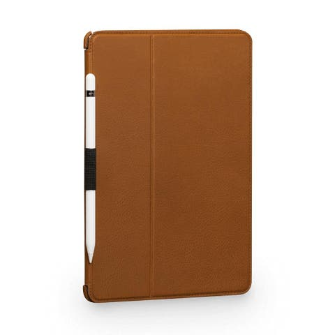 "SENA Cases Future Folio Leather Case for iPad Air 3 (2019) and Pro 10.5"" (2017) Tan - SHD30206NPUS"