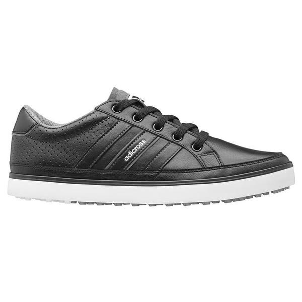 best loved 34a10 604f2 Adidas Men  x27 s Adicross IV Black Black White Golf Shoes Q47045