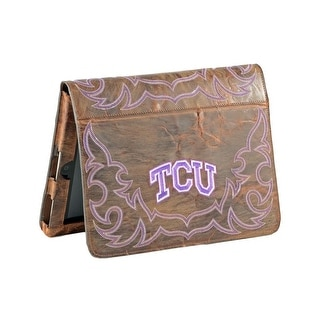 Gameday iPad Case Cover Texas Christian Frogs Brass TCU-IP062-2
