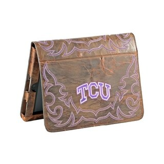 Gameday iPad Case Cover Texas Christian Frogs Brass