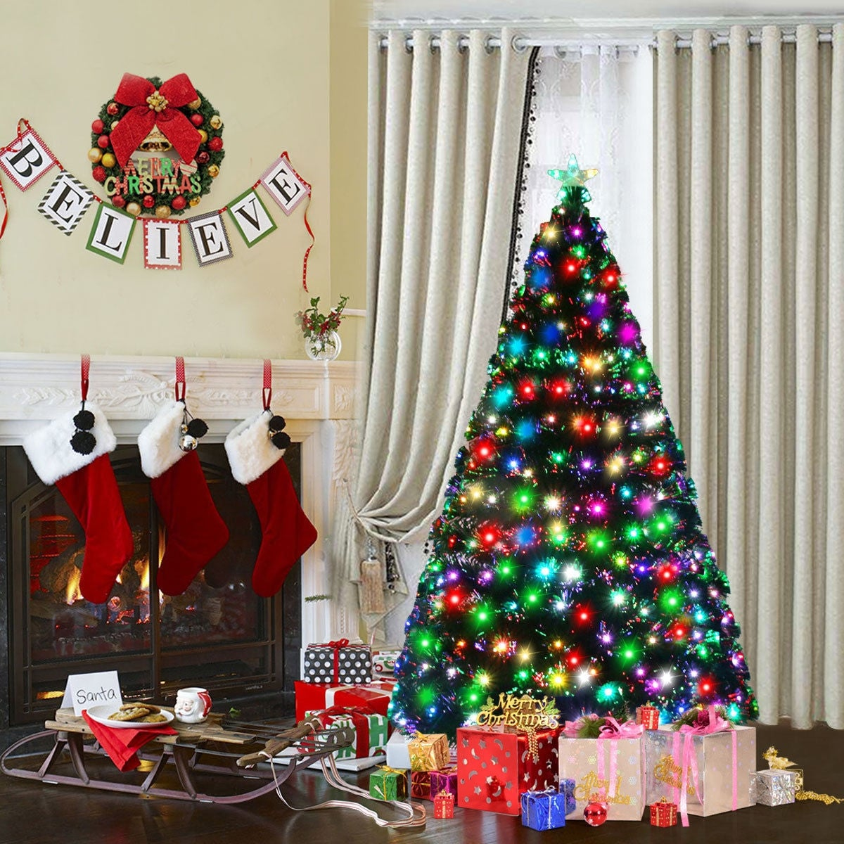 4fa83a468ac Christmas Trees | Find Great Christmas Store Deals Shopping at Overstock