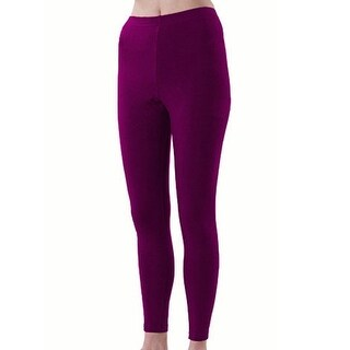Pizzazz Girls Size 6-14 Maroon Sport Cheer Dance Tights Ankle Length