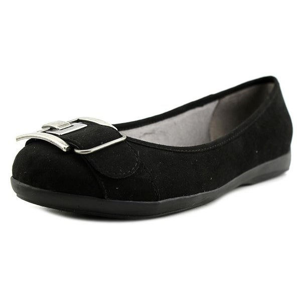 Life Stride Fantell  W Round Toe Suede  Flats