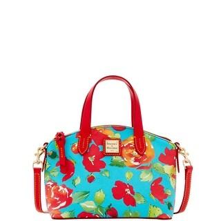Dooney & Bourke Rose Garden Ruby Bag (Introduced by Dooney & Bourke at $158 in Apr 2016) - Aqua