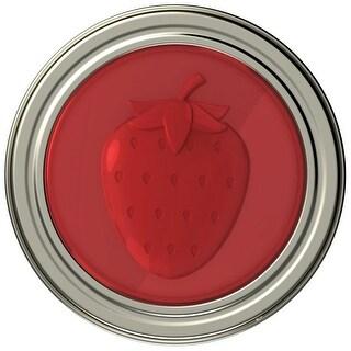 Jarware 82633 Starwberry Jelly/Jam Decorative Jar Lid, Regular Mouth