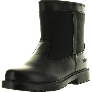 Totes Mens Stadium Winter Waterproof Snow Boots - Black