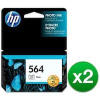 HP 564 Photo Original Ink Cartridge (CB317WN)(2-Pack)