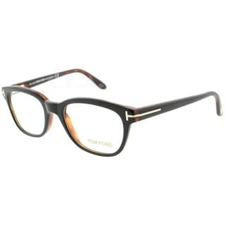 Tom Ford TF 5207 005 49mm Shiny Black/Brown Women's Eyeglasses - 49mm-18mm-135mm