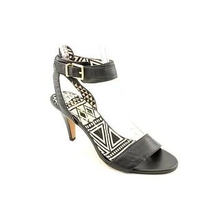 Jessica Simpson Erikk Women Open Toe Leather Black Sandals