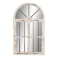 "Aspire Home Accents 74397 42"" Arched Window Wall Mirror - N/A"