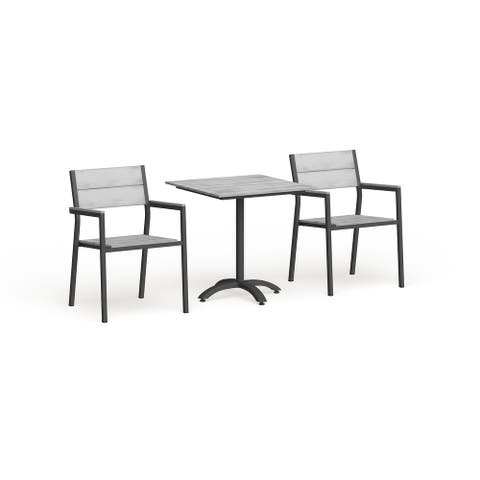 Modway Main 3-Piece Outdoor Patio Dining Set