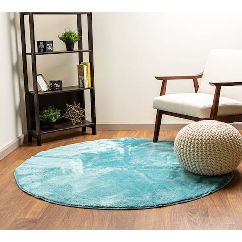 Heavenly Faux Area Rug - Soft & Plush Pile