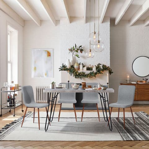 Furniture R Mid-century Modern 5 Pieces Dining Set