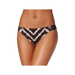 Hula Honey Womens Tie-Dye Strappy Swim Bottom Separates