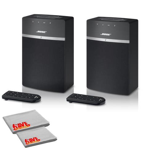 Bose SoundTouch 10 Wireless Music System (Black) - 2 Pack